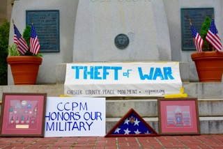 THEFT OF WAR DEMONSTRATION